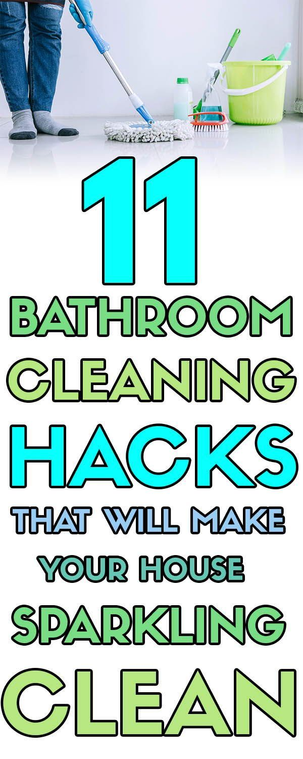 11 Bathroom Cleaning Hacks That Ll Make Your Bathroom Sparkling Clean Forever Free By Any Means Bathroom Cleaning Clean Bathtub Bathroom Cleaning Hacks