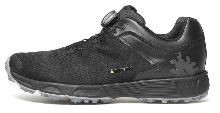 Icebug Men's DTS3 RB9X GORE-TEX Traction Running Shoe, Carbon/Black, 11.5