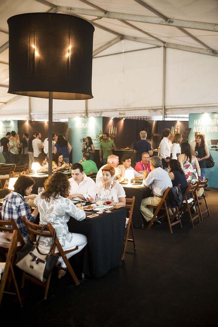 Minho Festival 2015, Restaurantes L'Eau Vive - Hospedaria Convento de Tibães, Delicatum e Hamburgueria Alta Burguesia estiveram em funcionamento permanente.