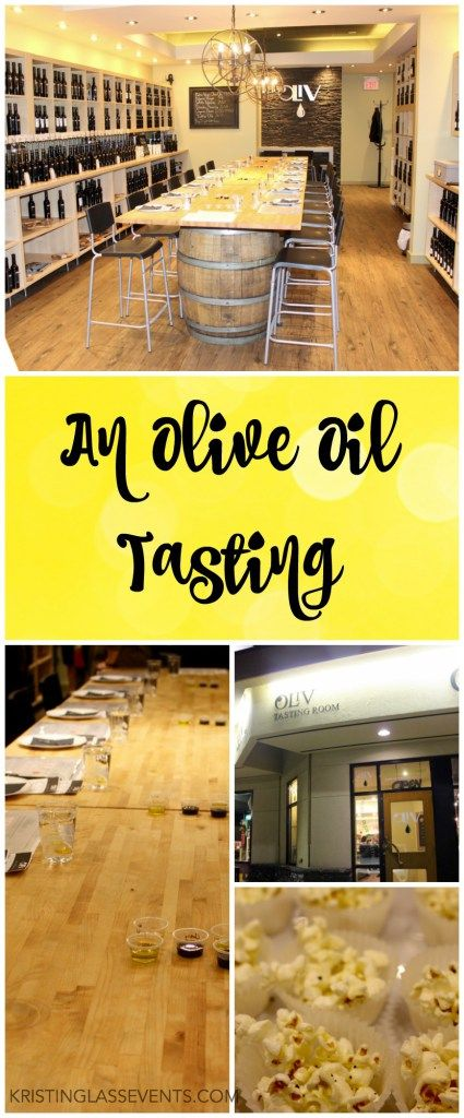 An olive oil tasting is a unique idea for a networking event; it gives the guests something to do at the event. #event #eventplanning #yegevents #networking #networkingevents