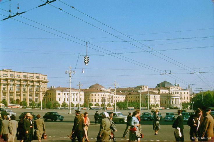 37 фото. Москва 1956 года, глазами француза Жака Дюпакье » Photolium - Большие фото новости