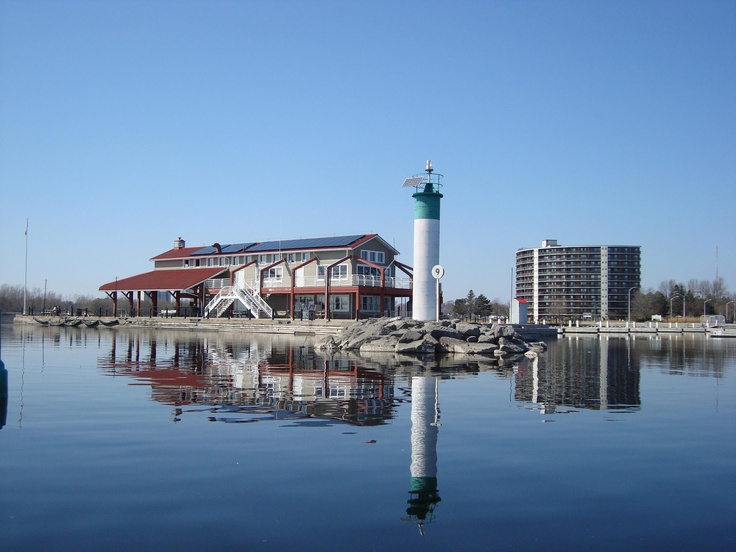 Myer's Pier on the Bay of Quinte, Belleville, Ontario