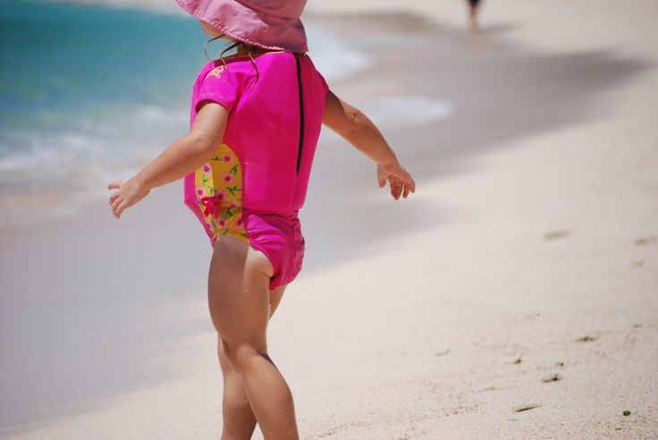 Child on the beach in Barbados - and my five top reasons to visit Barbados with kids, apart from the sun, sand and sea