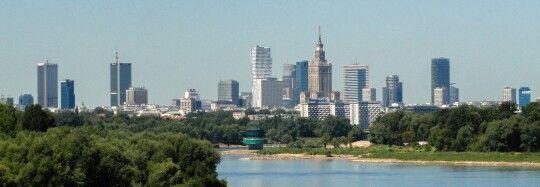 The Vistula view.