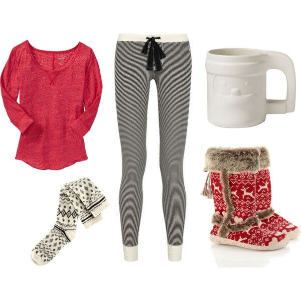 What to Wear on Christmas Morning - #3, created by kateanfinson on Polyvore