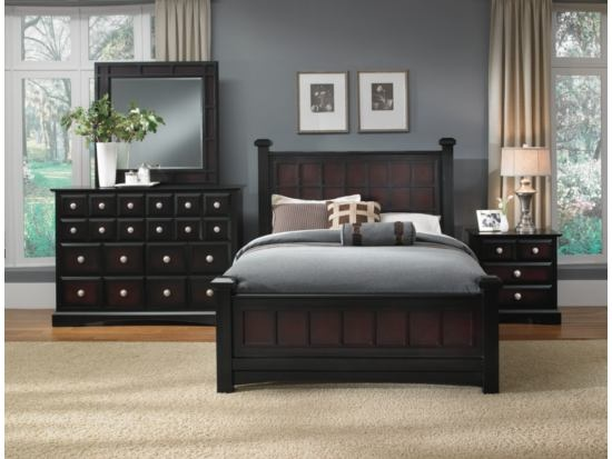 winchester 6pc bedroom package value city furniture