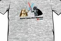 Lego Star Wars Now I Am The Master T-Shirt (M) Mens short sleeved T-Shirt. With front print. Officially licensed Lego/Lucasfilm Ltd merchandise.... (Barcode EAN=1000070017002) http://www.comparestoreprices.co.uk//lego-star-wars-now-i-am-the-master-t-shirt-m-.asp