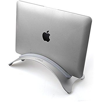 Amazon.com : Sopi BookArc for MacBook and iPad Pro, silver | Space-saving vertical desktop stand for Apple notebooks and iPad : Electronics