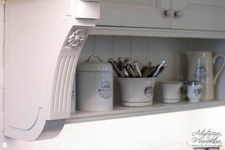 dekor stanowisko piecowe - zdjęcie od Artystyczna Manufaktura - klasyczne meble na zamówienie - Kuchnia - Styl Prowansalski - Artystyczna Manufaktura - klasyczne meble na zamówienie
