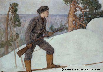 Halonen, Pekka Ilveksenhiihtäjä, 1900