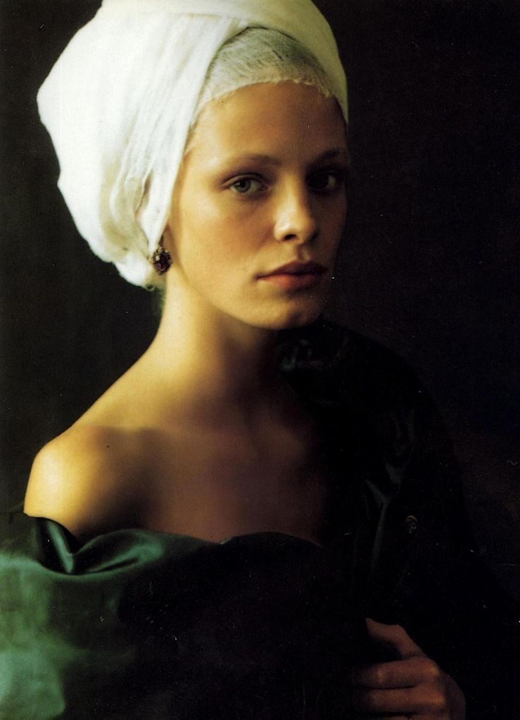 "Fashion that Takes You Back - ""Infanta Style"" photographed by Paolo Roversi for Vogue Italia 1997"