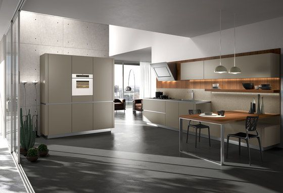 Fitted kitchens | Kitchen systems | Way | Snaidero. Check it out on Architonic