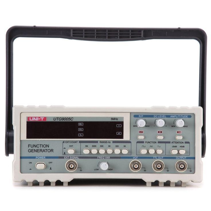 119.90$  Buy here - http://ali2dz.shopchina.info/1/go.php?t=1000001348307 - UNI-T UTG9005C Digital Function Waveform Signal Generator 0.5Hz-5MHz AC 220V Signal Source function Generator  #buymethat