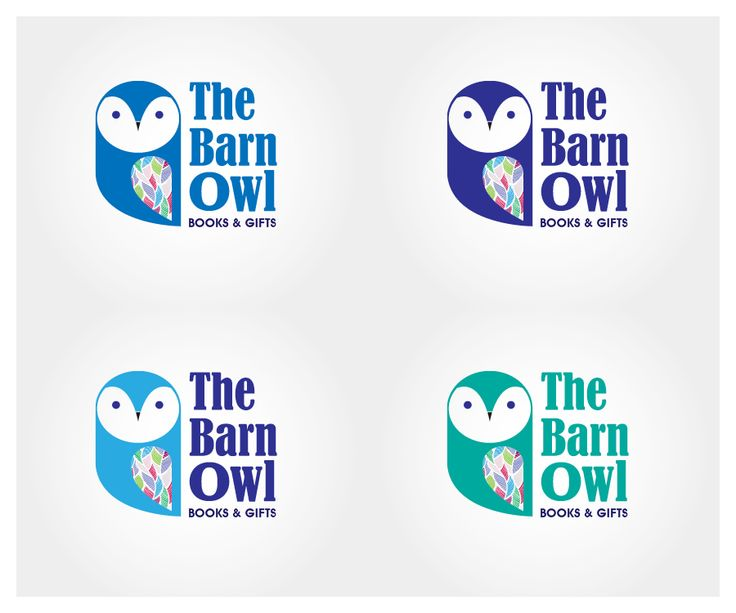 The Barn Owl Books and Gifts - new indie book s... Colorful, Upmarket Logo Design by Phoenix Dragon