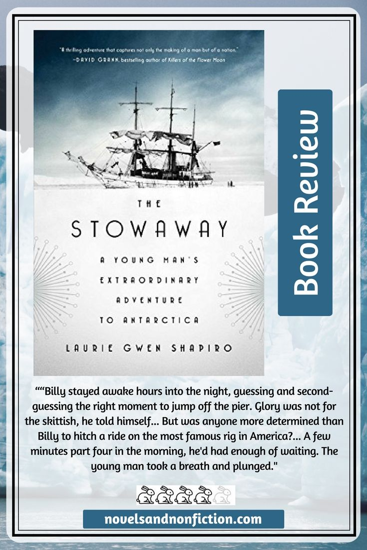 Just Read Review Of The Stowaway By Laurie Gwen Shapiro Reading