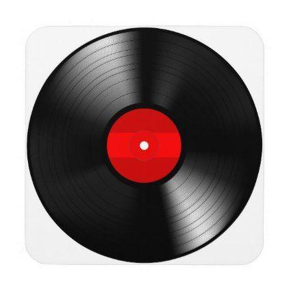 vinyl record coaster set home gifts ideas decor special unique