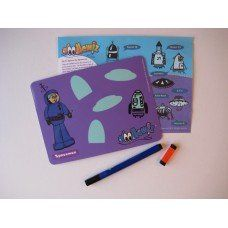 Doodlewiz Insert Pack - Spaceman made in Hampshire and supplied by Green Lighthouse Limited in #Devon - £5.50