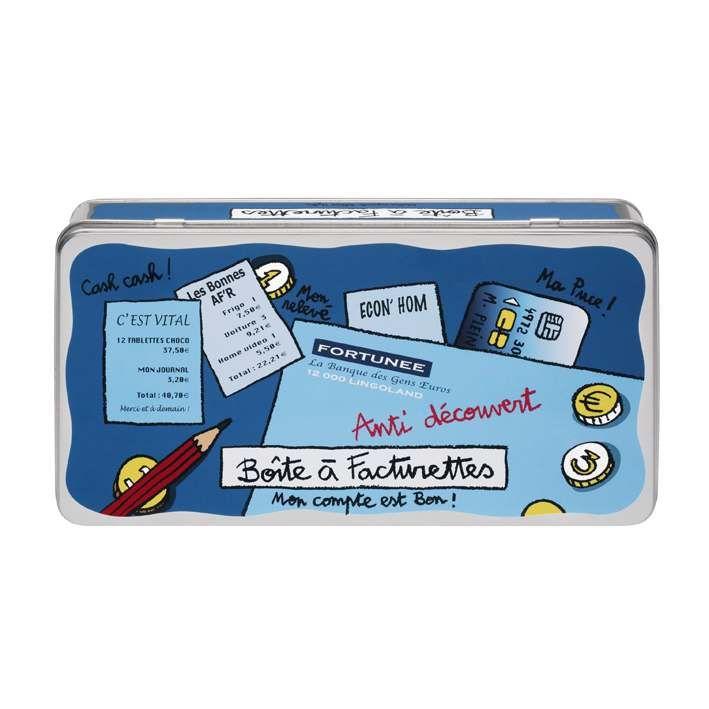 Boîte à facturettes Derrière la porte, boîte de rangement pour les factures