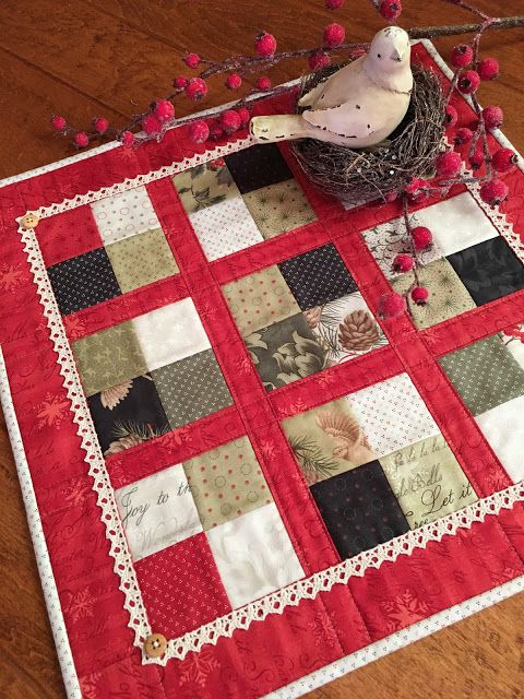 Coffee Time Quilt for Christmas