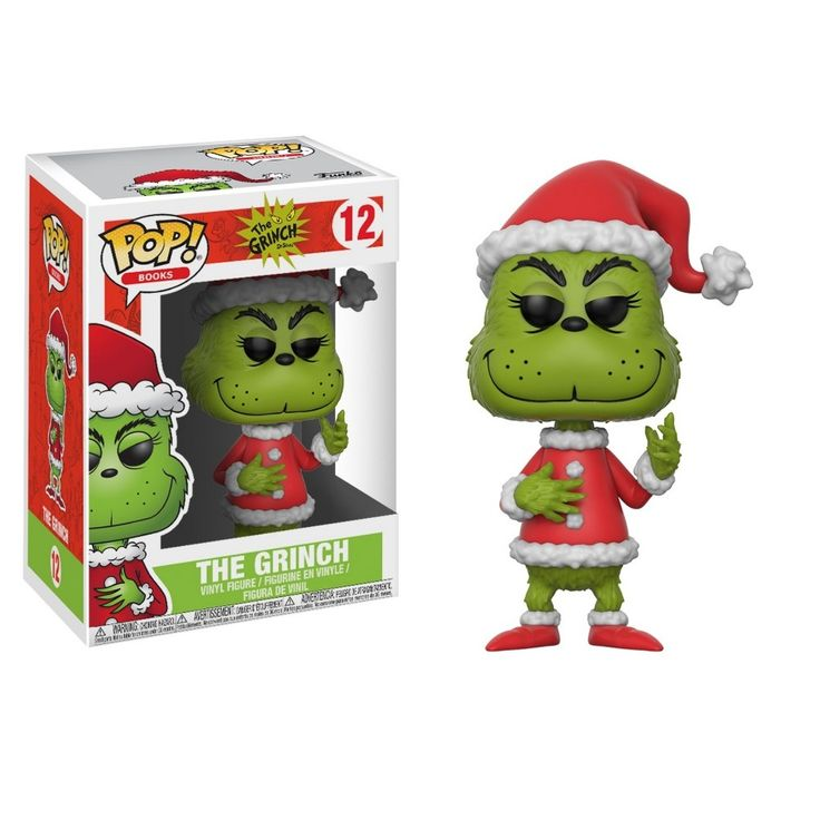Funko The Grinch Santa Grinch With Chase