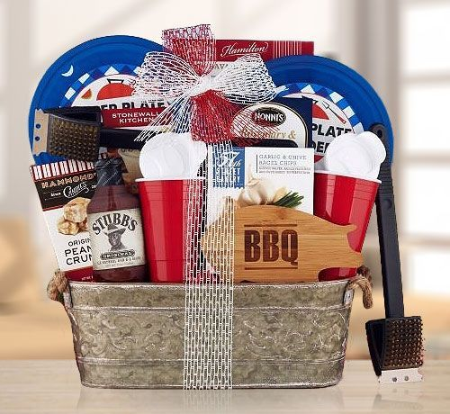 Order A Barbecue Gourmet Gift Basket for Grill Experts online. Our product range offers gift baskets for almost every occasion or holiday, including Gourmet, Housewarming, Just Because, For Couples, For Friends, For Men, For Dad. Free Shipping and Speedy Delivery to the USA within 48 hrs.