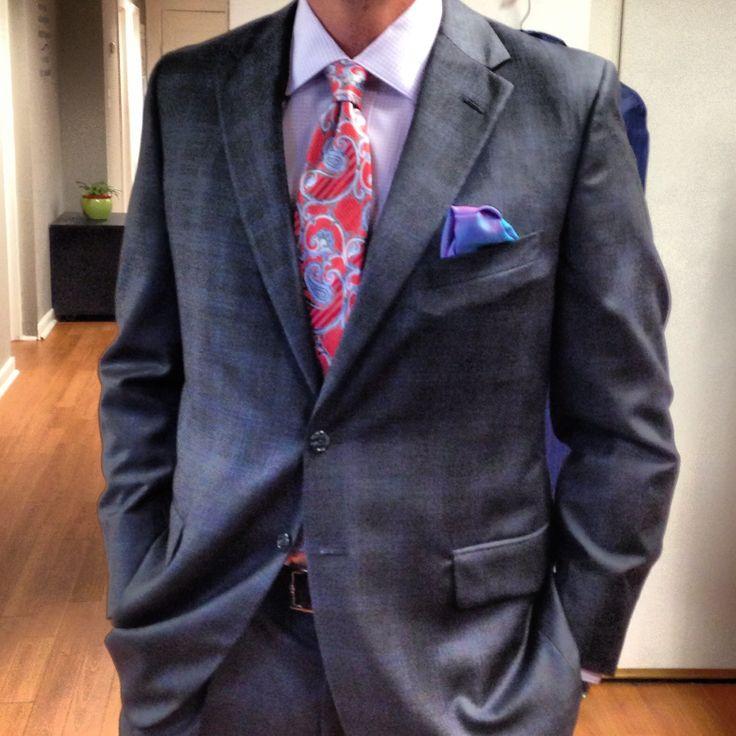Blue plaid suit | Men's Style | Pinterest | Suits, Plaid and Blue