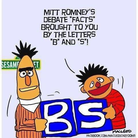 Mit Romney's Debate Facts