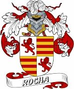 De Rocha Spanish Coat Of Arms www.4crests.com #coatofarms #familycrest #familycrests #coatsofarms #heraldry #family #genealogy #familyreunion #names #history #medieval #codeofarms #familyshield #shield #crest #clan #badge #tattoo #crests #reunion #surname #genealogy #spain #spanish #shield #code #coat #of #arms