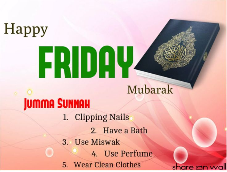 Every Muslim should make preparations for jummah and follow the Jummah Sunnah as well. Jummah Sunnah's are clipping nails, take a bath, use miswak, use perfume and wear the clean clothes.
