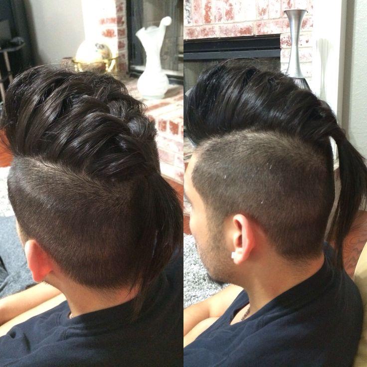 Undercut French Braid Pomp Hairdos Pinterest Braids