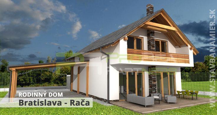 Rodinný dom v Bratislave časť Rača