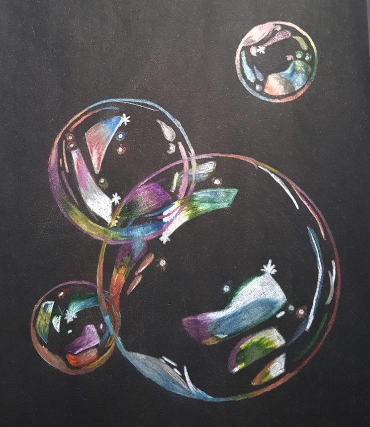 Bubbles Art Ed Central 7th grade