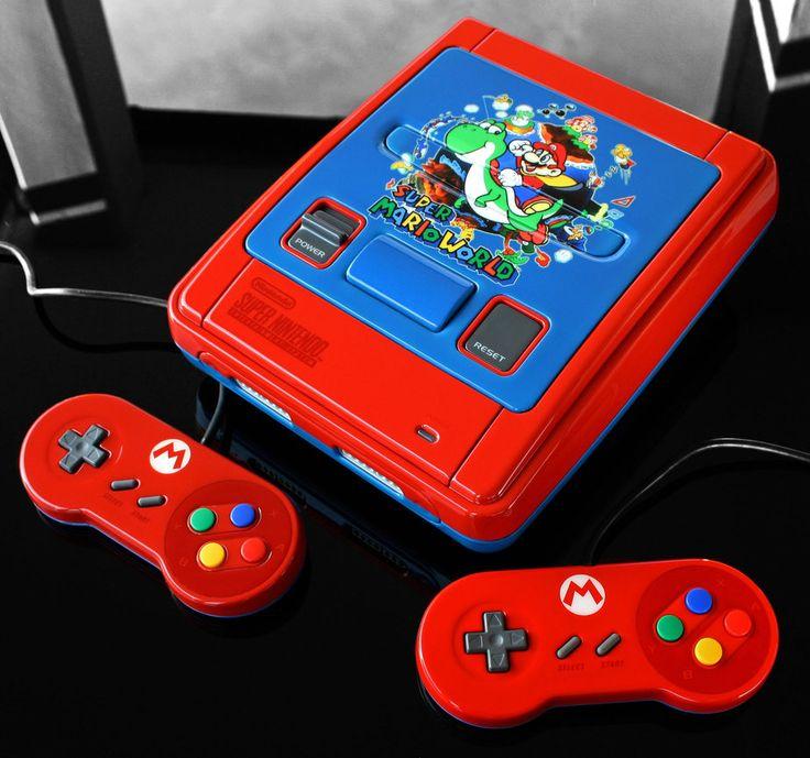 Custom Made Super Mario SNES by Zoki64 on Deviant Art