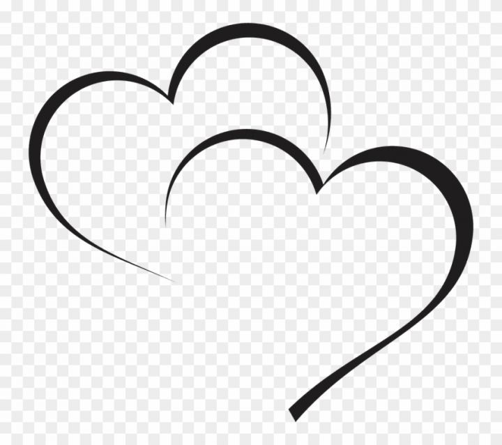 Heart Vector Png Transparent Background Outline Of Heart Clipart Png Images For Editing Heart Vector Design Heart Clip Art