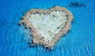 Heart Reef Hamilton Island, Australia