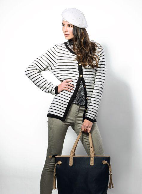 SOUTHLAND Sweaters rayas!