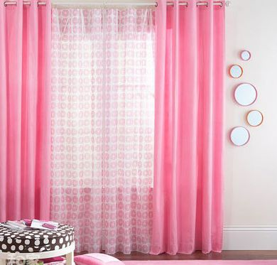 layered curtains idea not the color