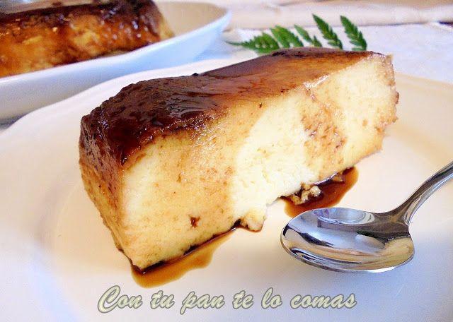 Flan de queso (Microondas)