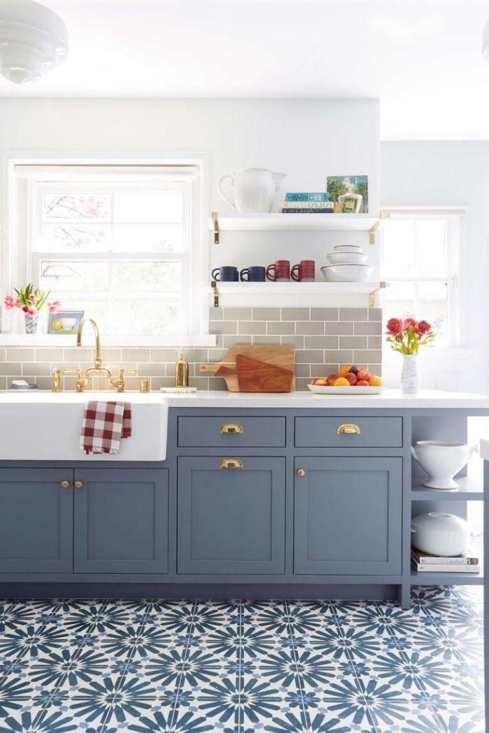 ▷ 1001 + modèles de cuisine avec carreaux de ciment | Salon ...