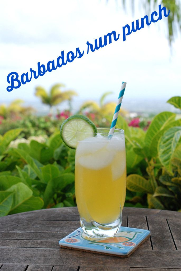 Barbados rum punch | Bump and Run Chat