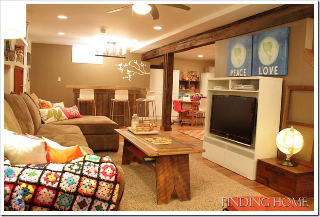 1000 images about bedrooms and our new house ideas on for Basement living room paint ideas