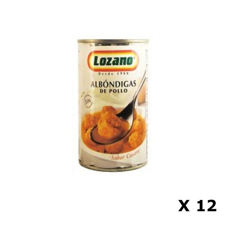 Bestelling Kip Gehaktballen  500 Gr - Lozano