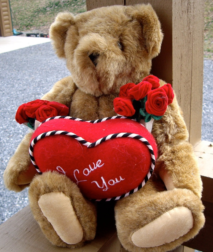 Vintage Vermont Teddy Bears Collectible Mod Preppy Valentine's Day is My FAVORITE Holiday. Hopeless Romantic!