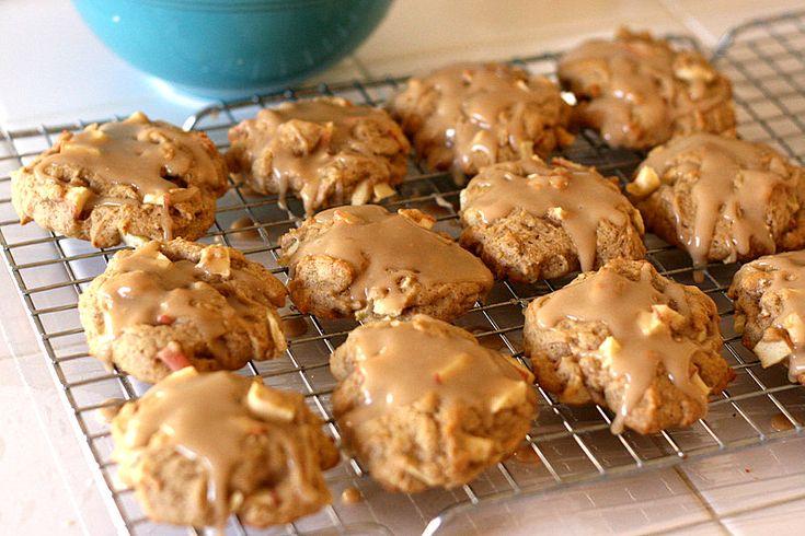 Glazed Maple Cookies