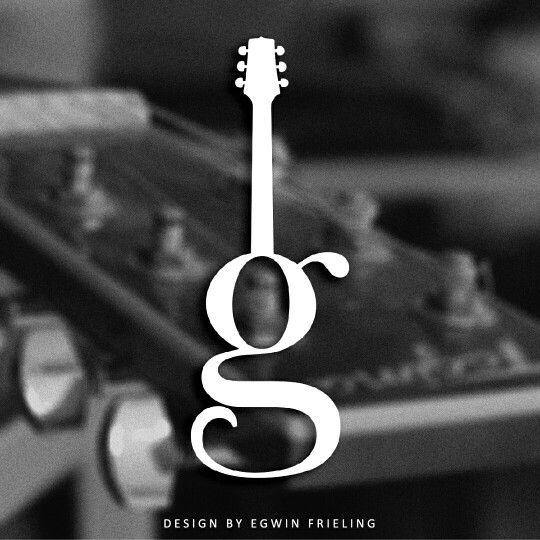 Guitar Logo design by Egwin Frieling ©