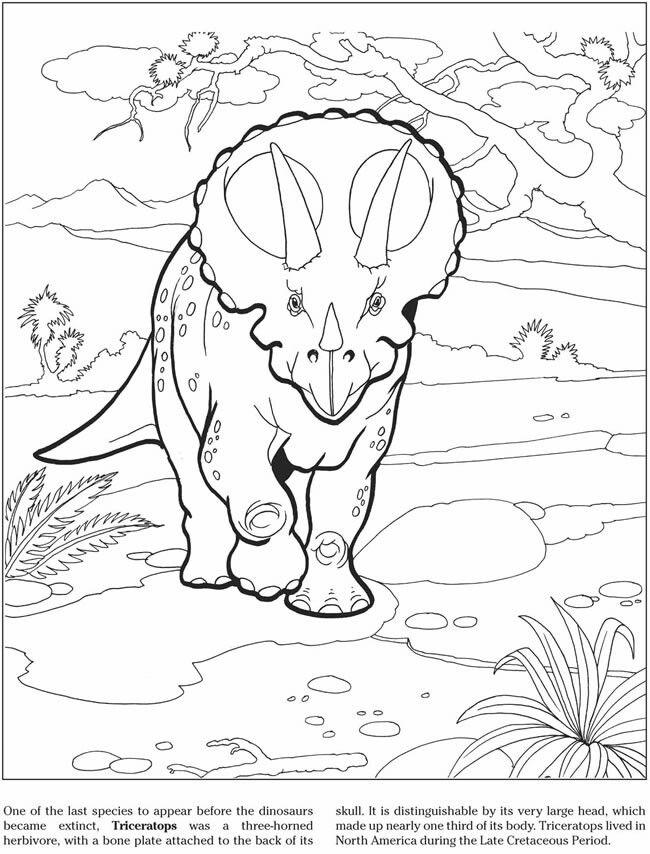 pin von joshkilby auf triceratops  ausmalbilder