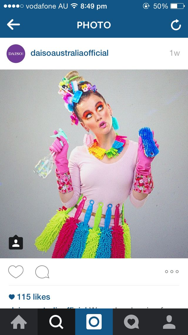 April 2015 Daiso Australia Campaign Shoot I was lucky enough to get a little creative making the accessories for this fun campaign! Make Up: Merton Muaremi Stylist: Andrew Zumbo Assistant Stylist: Roxanne Watkins Model: Chloe Hunt *Excuse the screenshot!*