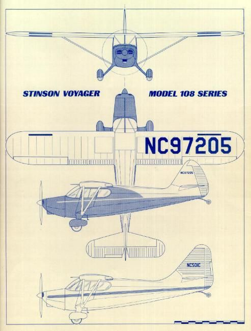 17 best images about stinsons models station wagon stinson 108 voyager drawing