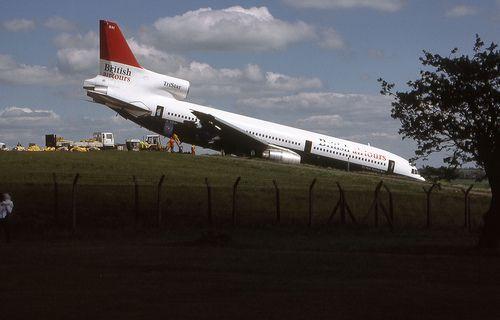 27 May 1985 – British Airtours Lockheed Tristar G-BBAI overran the runway on…