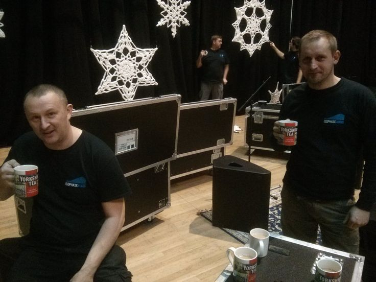 Thanks to Isophase Audio and Open White Design working hard behind the scenes.